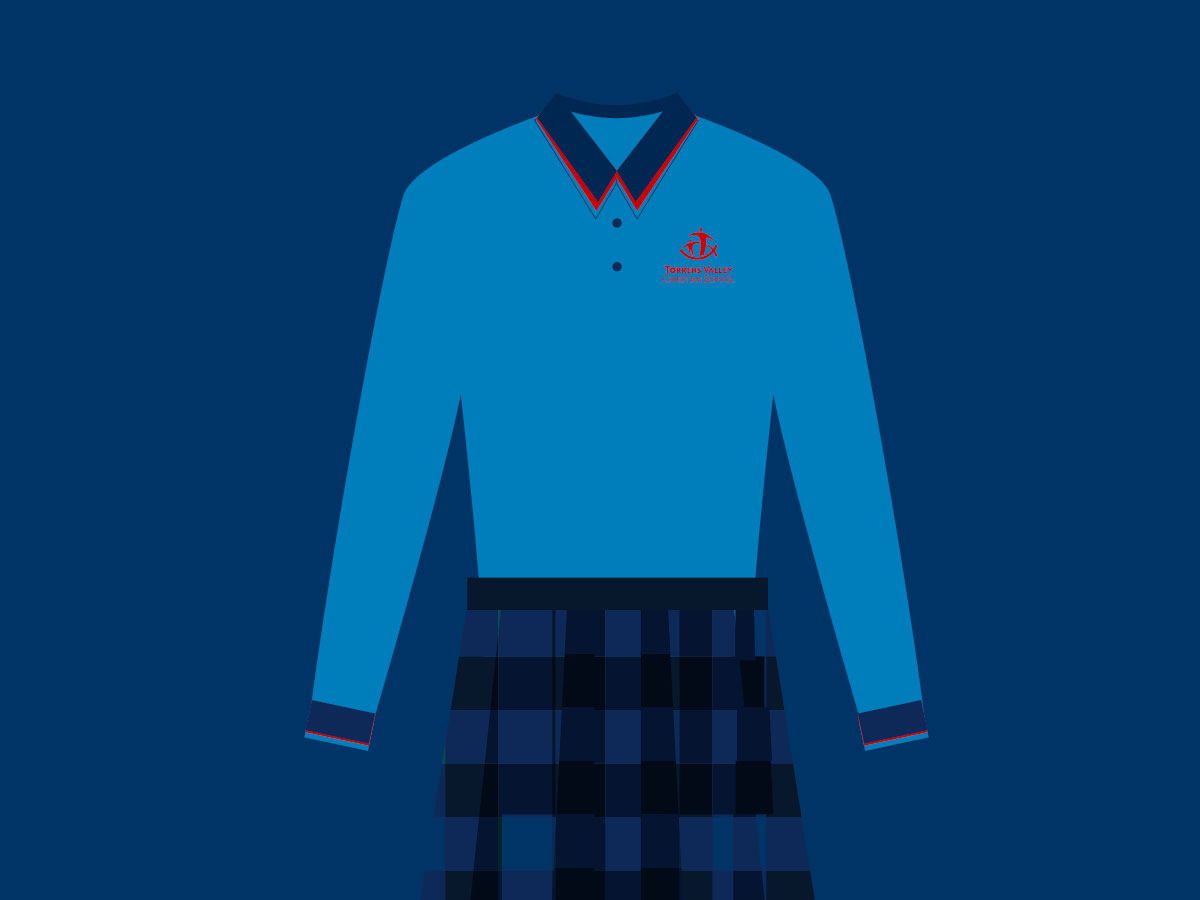School Uniform with TVCS logo