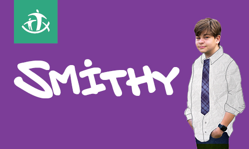 Smithy the Musical with student